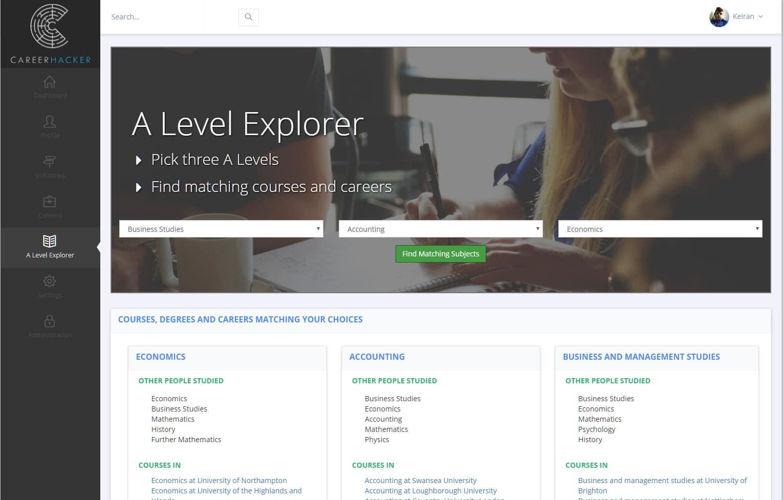 A Level Explorer - Screenshot 1