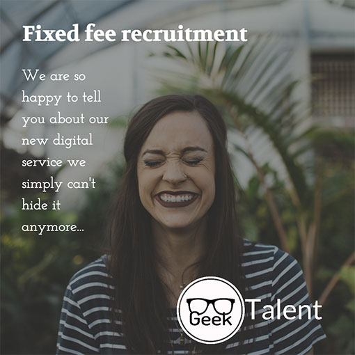 Introducing fixed fee unlimited recruitment